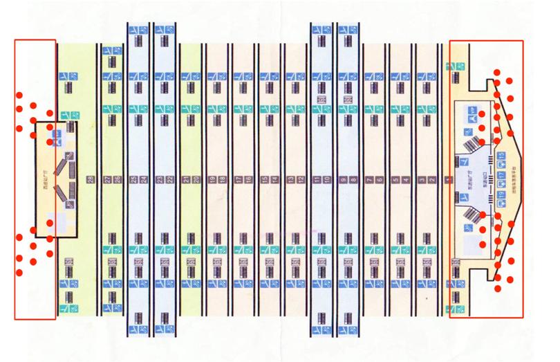 广州南站高铁灯箱广告-广州南站包柱灯箱广告-广州